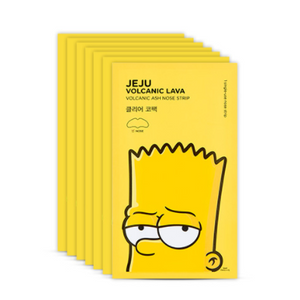 [THE FACE SHOP] [The Simpson] Volcanic Ash Nose Strip (7 Sheets)