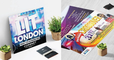 Add a bit of Class with Gloss Laminated Flyers