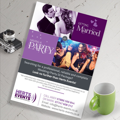 A4 Leaflets 130gsm - printexpert.co.uk