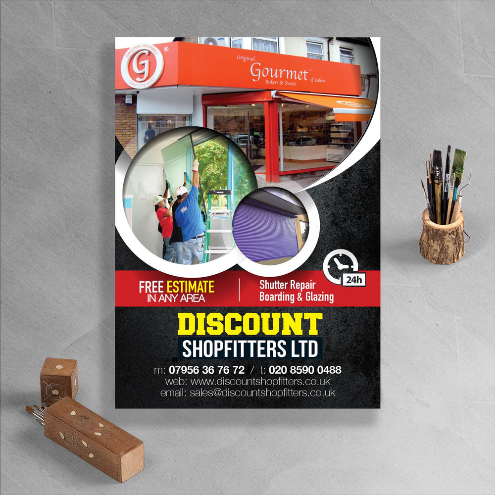 Matt Laminated Flyers 320gsm - printexpert.co.uk