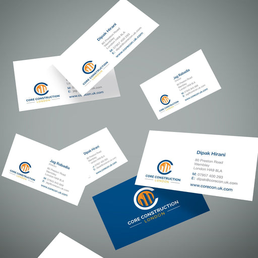 Multi Name Business Cards 4 Sets