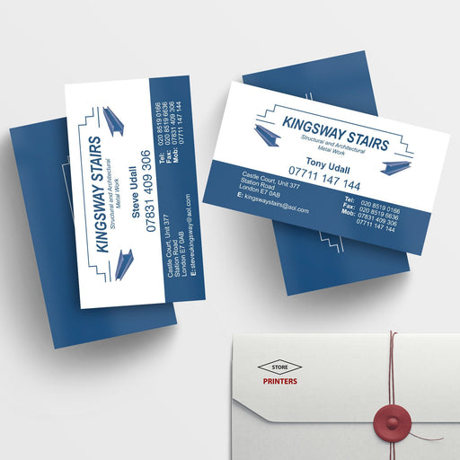 Multi Name Business Cards 2 Sets