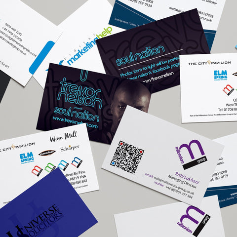 Multi Name Business Cards 5 Sets