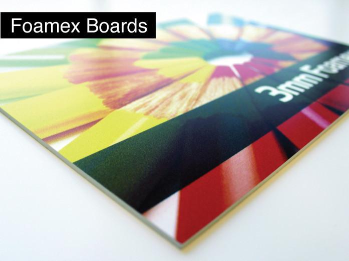Foamex Single Sided Print - printexpert.co.uk