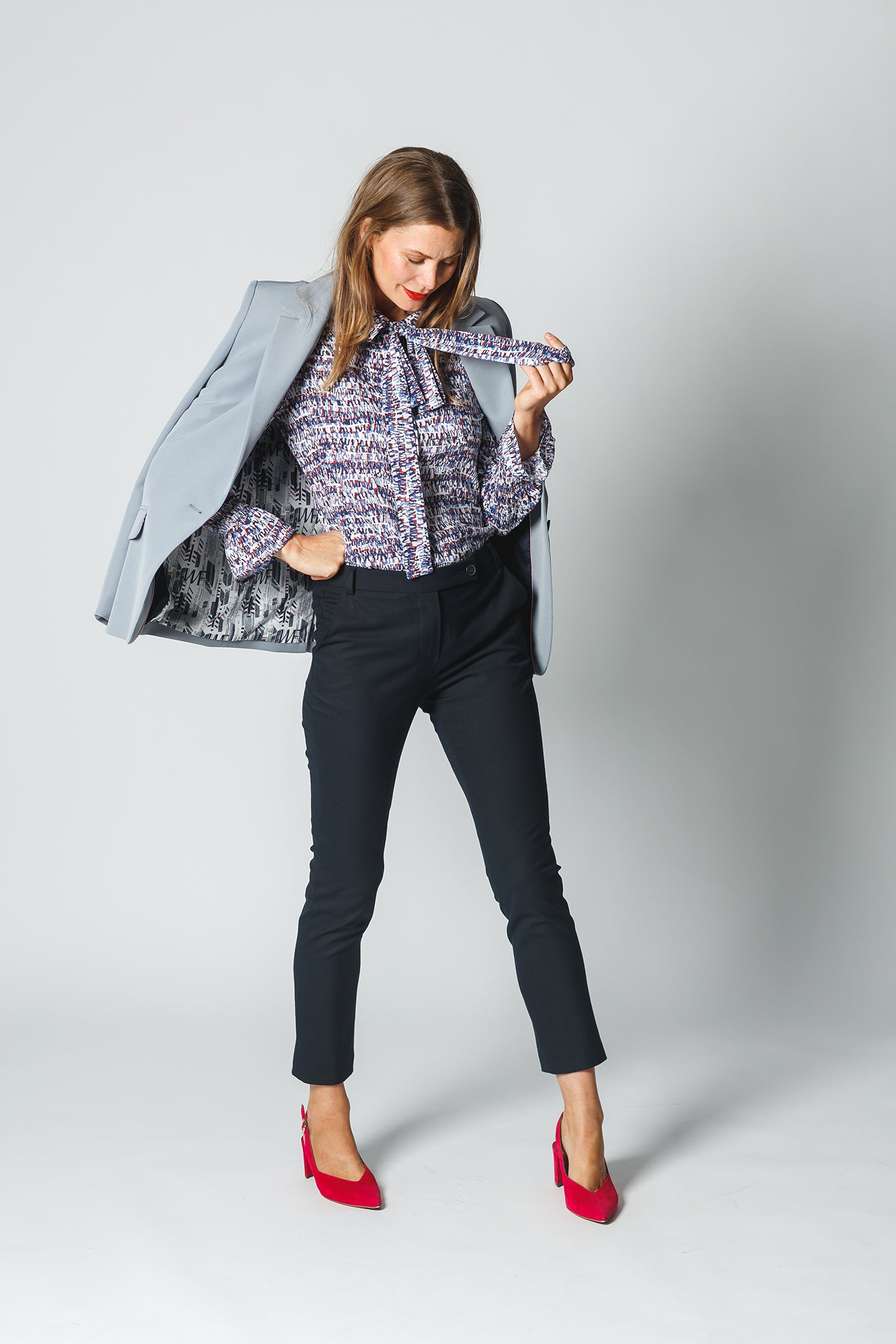 Statement Blazer mit Travel Hose