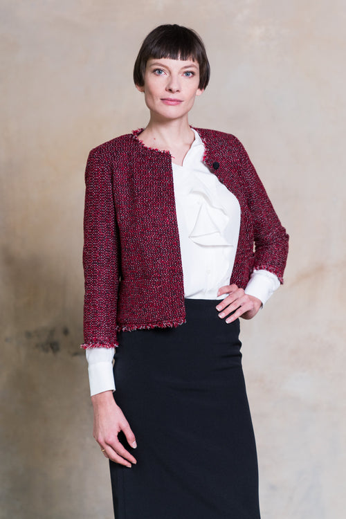 TIMELESS CHAMPION I Femininer Blazer im Cropped-Look