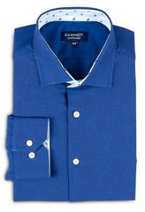 Dark Blue Oxford Men's Shirt