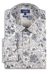 Navy Ecru Men's Shirt