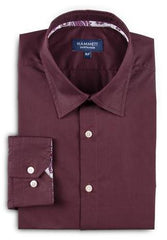 Dark Red Men's Shirt