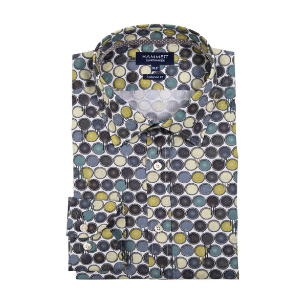 The PARIS – Men's Paint Pot Print Shirt