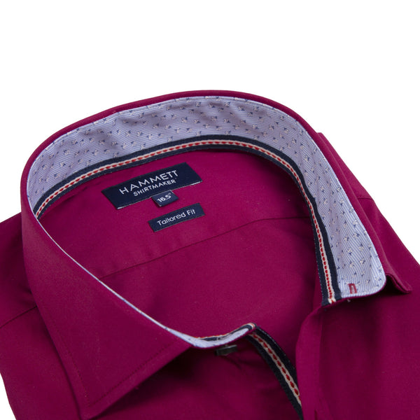 The SEVILLA – Men's Burgundy Shirt