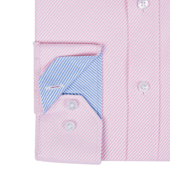 Pink Luxury Twill Formal Men's Shirt