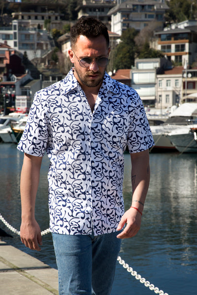 The ST TROPEZ men's tailored shirt