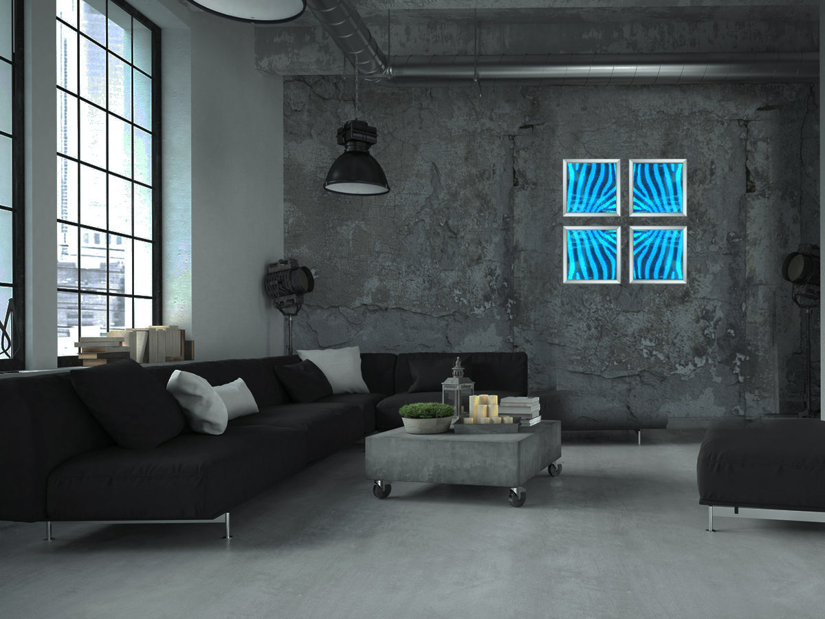 LED Art Piece- Wi-Fi Controlled Art Piece- Sensual LED Light Home Décor- They bring together the best of both worlds in interior design, while having beautiful art pierces with unique color changing LED art lights to enhance various spaces.