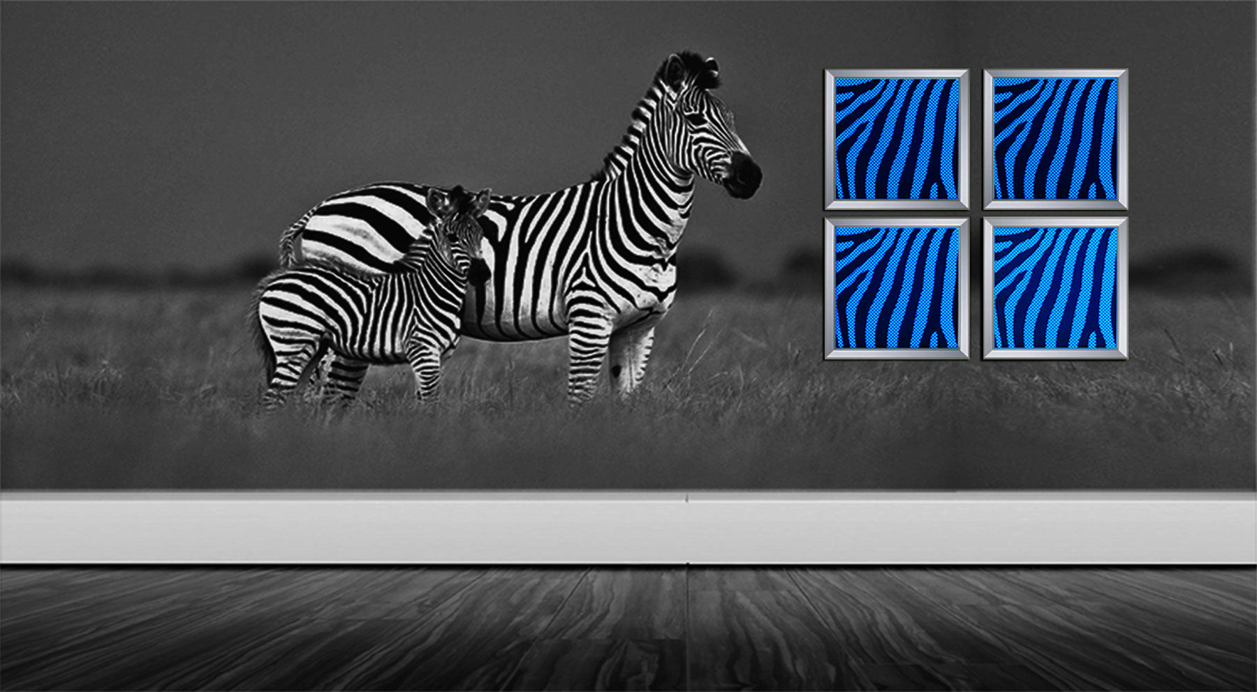 led wall decor art, panel metal wall art, home accent , metal art, color changing luminous lights, abstract home decor zebra arts art lights led arts  color changing