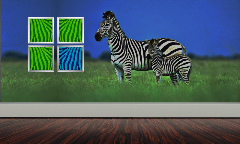 led wall decor art, panel metal wall art, home accent , metal art, color changing luminous lights, abstract home decor zebra arts art lights led arts  color chaning