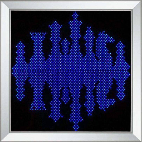 London Chess - Modern Wall Art LED Color Changing Lights