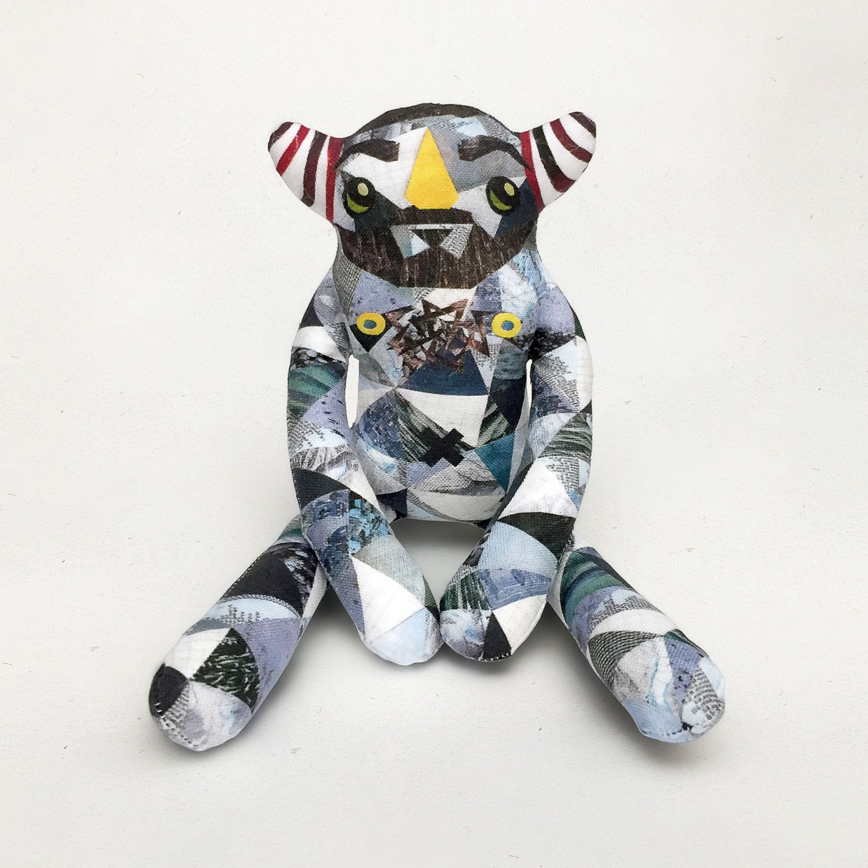 Luke - Papercut Monsters - Handmade Stuffed Toy