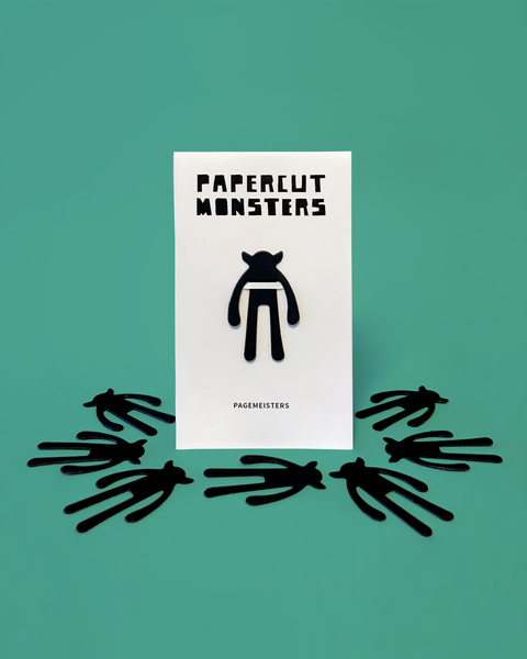 Pagemeisters - Papercut Monsters - Handmade Stuffed Toy
