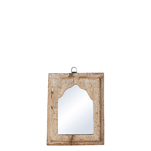 Espejo Madera Reciclada. Recycled Wood Mirror. Affari. Decoración. Decor. Nomad Estilo.