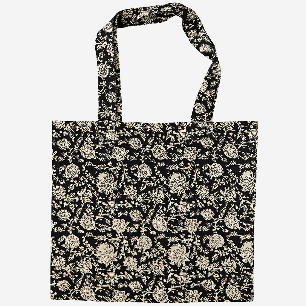 Bolso de mano. Printed tote bag. Madam Stoltz. Decoración. Decor.