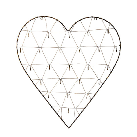 Corazon de pared stanley. Stanley wall heart. Affari. Decoración. Decor.