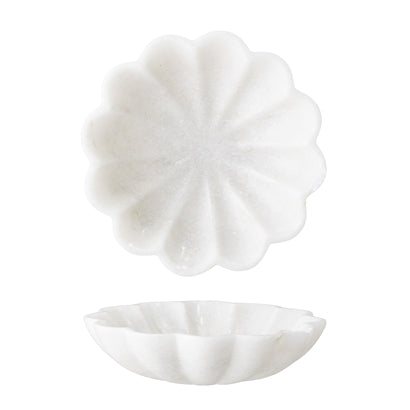 Jabonera de Mármol Blanco.White Marble Soap Dish. Bloomingville. Decoración. Decor. Nomadestilo.