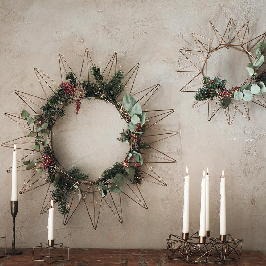 Talini Metal Wreath