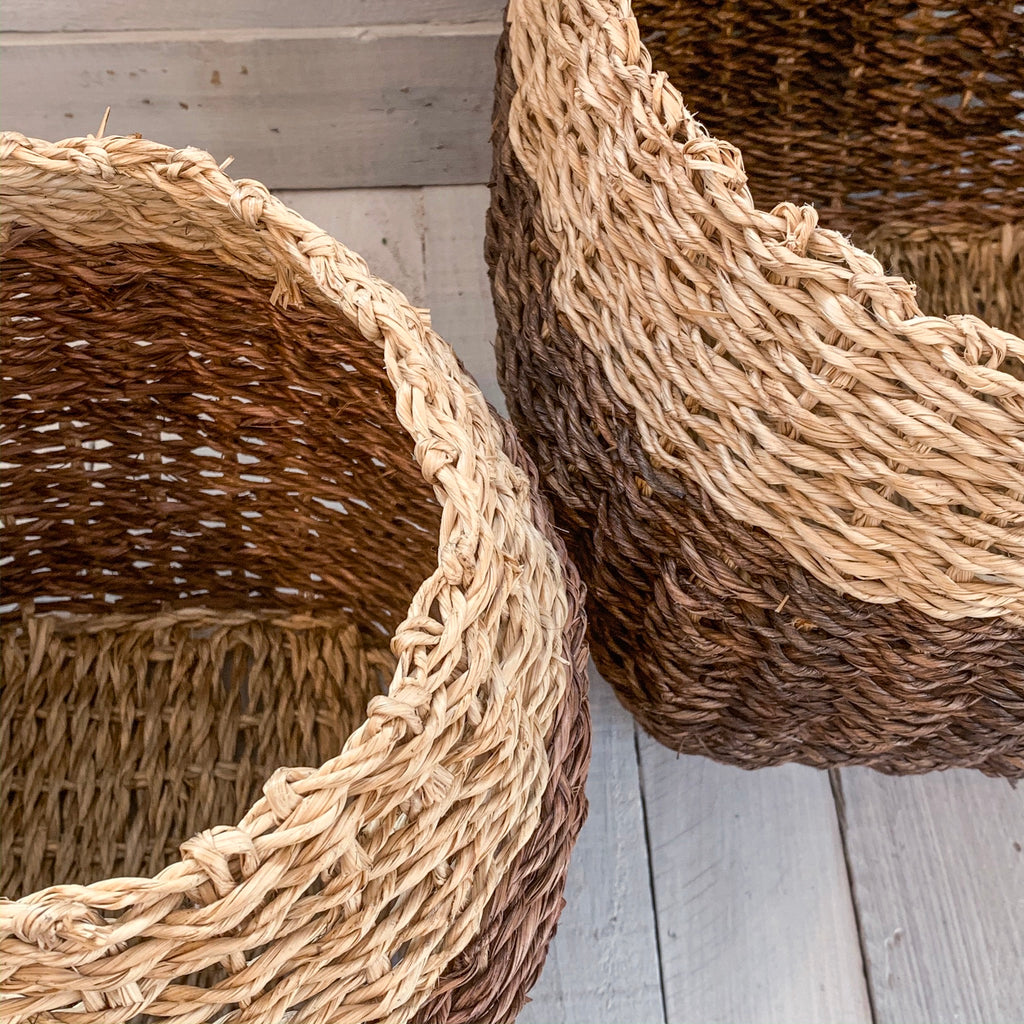 Bamboo Rope Basket
