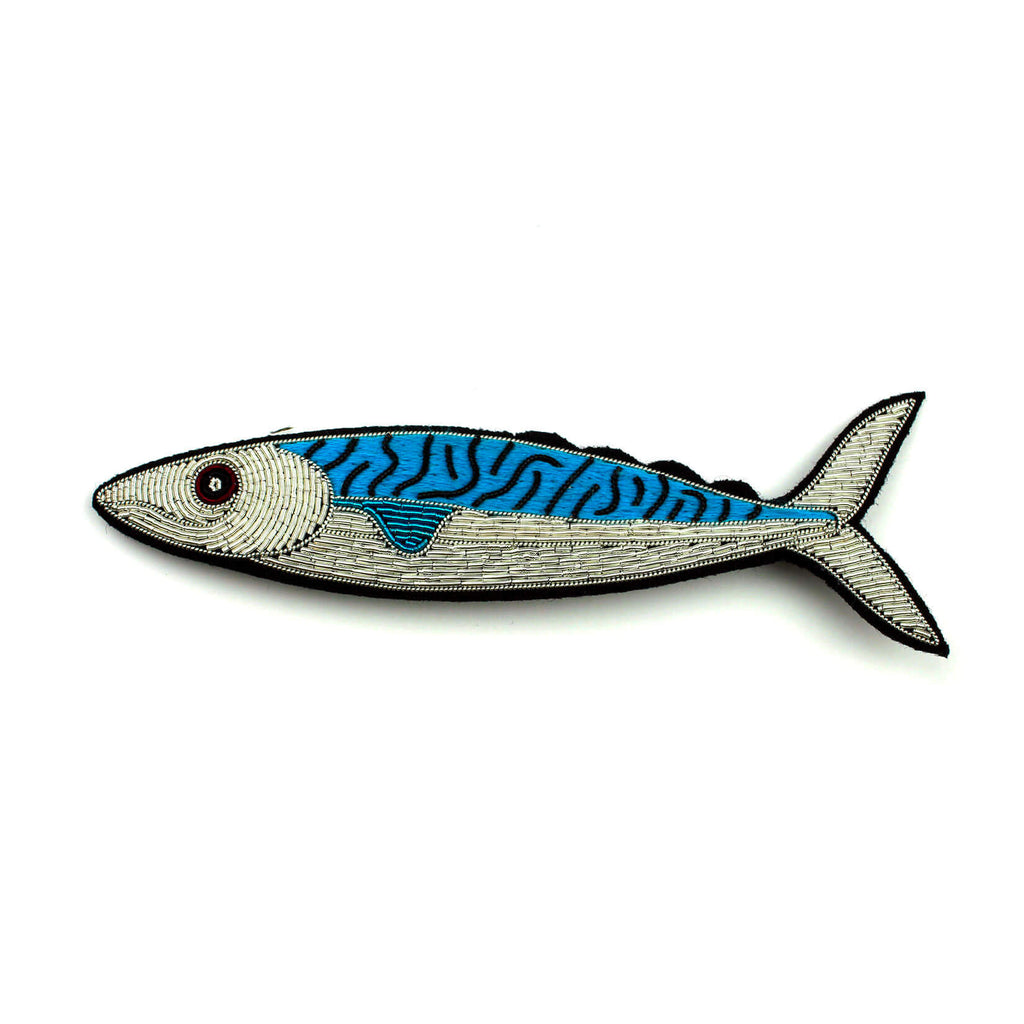 Broche Grande Pez. Big brooch Fish. Macon&Lesquoy. Decoración.Decor