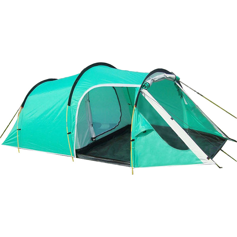 Double Layer 3-4 Person Capacity Tunnel C&ing Tent  sc 1 st  Dan Survival Gear & Double Layer 3-4 Person Capacity Tunnel Camping Tent u2013 Dan ...