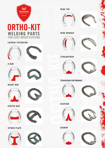 Ortho kit Z Bar Welded Inserts