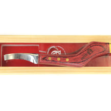 Scientific Horseshoeing Curved Blade Knife