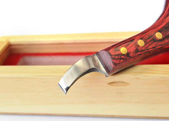 Scientific Horseshoeing  Loop knife