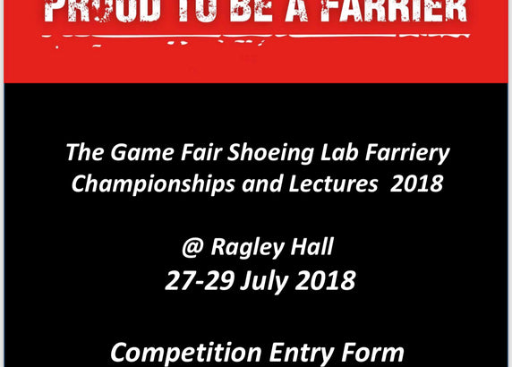 The Game Fair Shoeing Lab Therapeutic Shoeing Championships