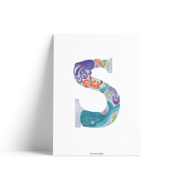 S is For Sea