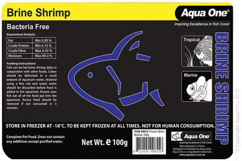 Aqua One Frozen Brine Shrimp