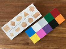 Shape and Colour Squares