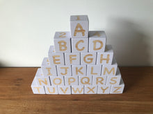 4cm Alphabet Blocks