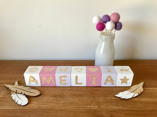 4cm Letter/Picture Combination Blocks
