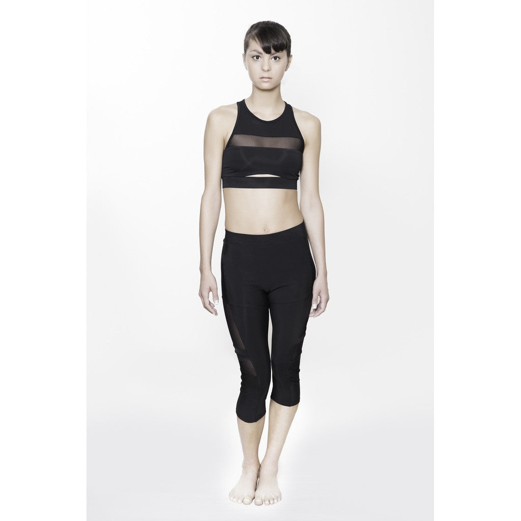 MIDRIFF CUTOUT BRATOP Women - Apparel - Activewear - Sports Bras- Iconette