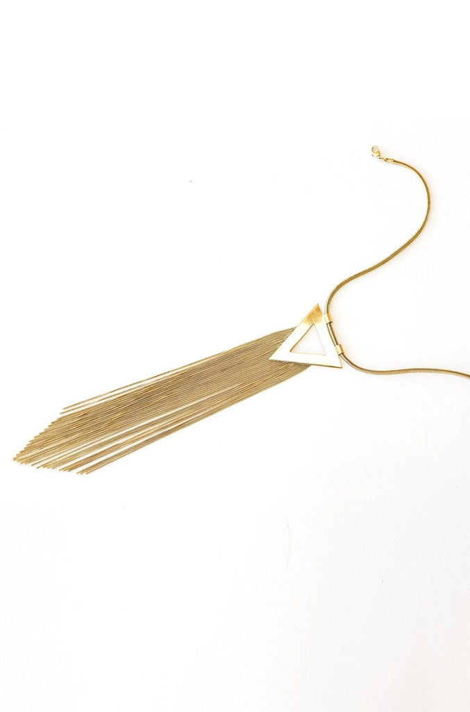 Aria Tassel Necklace Women - Jewelry - Necklaces- Iconette