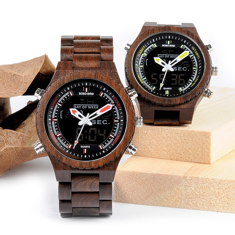 Reed Wood Men's Watch - Iconette