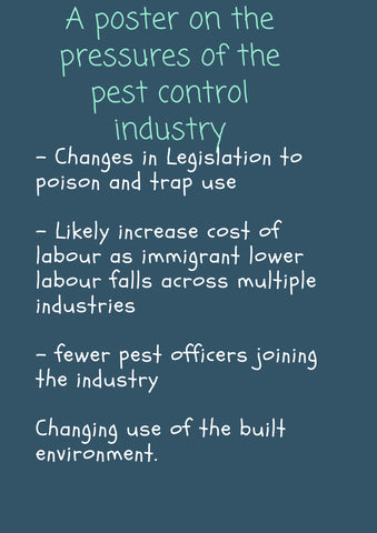 Pessure on the pest control