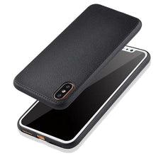 Fashion Soft Leather for iPhone X