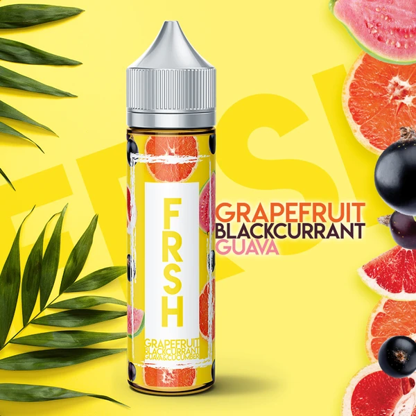 FRSH Mango Grapefruit Blackcurrant Guava