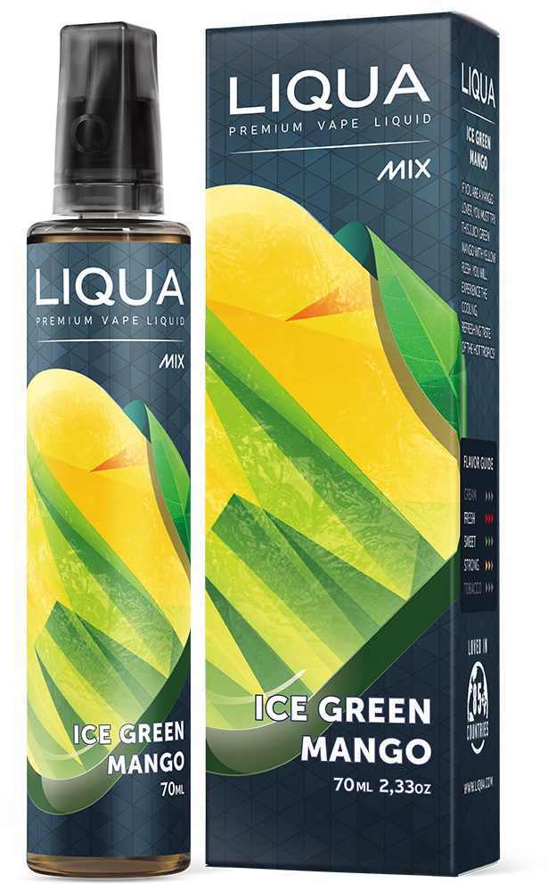 Liqua Mix - Cool Green Mango 70ml (70VG/30PG)