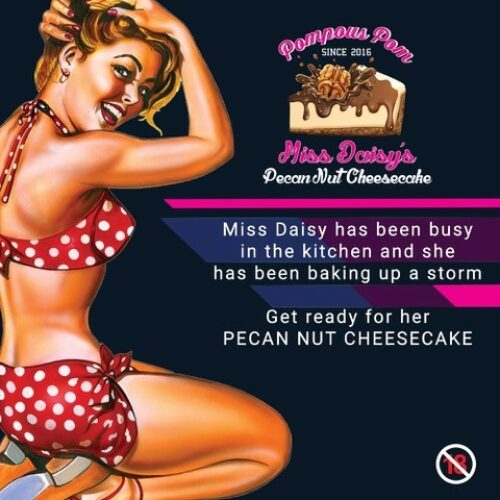 Miss Daisy's Pecan Nut Cheesecake