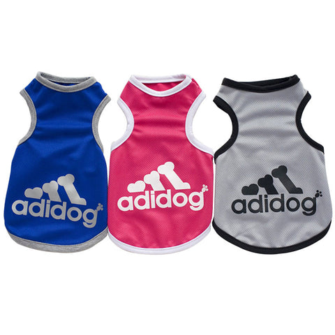 Adidog Sports Vest for Small Dogs