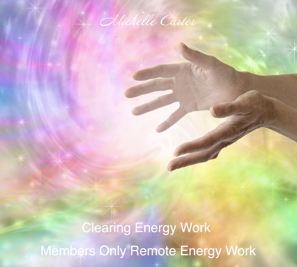 Members Remote Clearing Energy Work - Weekly